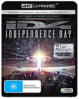 INDEPENDENCE DAY (4K Ultra HD) (B07ZNRGJKS) | Amazon price tracker / tracking, Amazon price history charts, Amazon price watches, Amazon price drop alerts