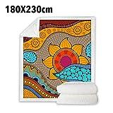 Phrat Manta Floral Sun Bedding étnica Personalizada para niños y Adultos,...
