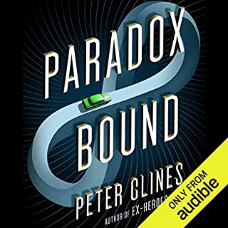 Paradox Bound     A Novel              Written by:                                                                                                                                 Peter Clines                               Narrated by:                                                                                                                                 Ray Porter                      Length: 12 hrs and 31 mins     110 ratings     Overall 4.4