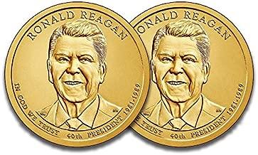 2016 P & D Presidential Dollar Ronald Reagan Uncirculated
