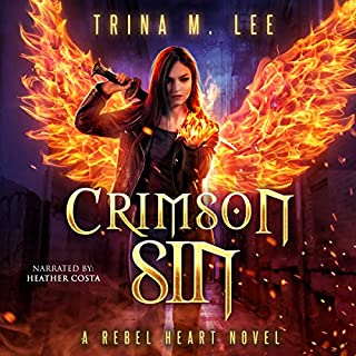 Crimson Sin audiobook cover art