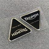 Moto Adesivi 3D di Alta qualità for Triumph Suprema Casco Sticker Fai da Te Decorativo della Decalcomania della Protezione General Purpose (Color : Black)
