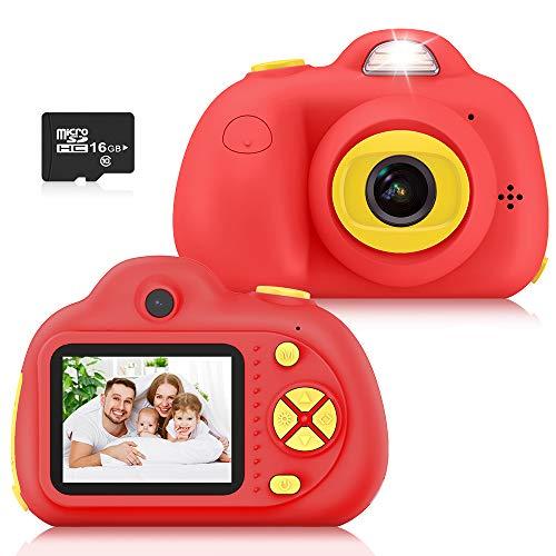 Kimy Spielzeug ab 3 4 5 6 7 Jahre Mädchen, Kinder Geschenke 3-10 Jahre Kinder Kamera Kinderspielzeug ab 3-10 Jahren Digitalkamera Kinder 3-10 Jahre Mädchen Spielzeug Weihnachts Geschenke für Kinder