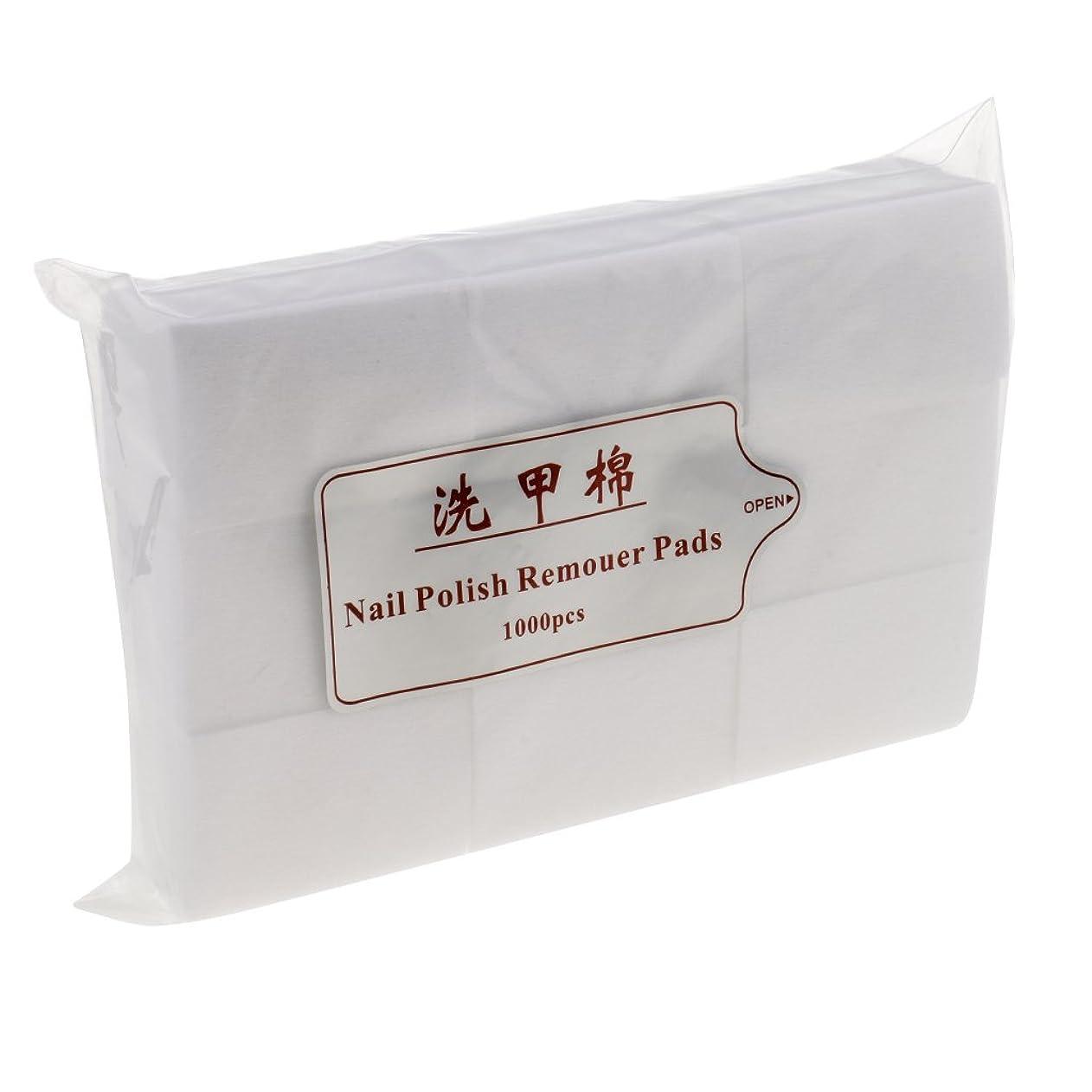 セッティング始める以降Blesiya 約1000個 ネイルコットンパッド ネイル パッド ネイルアートチップ パッド紙 吸水性 便利 ネイルサロン