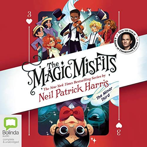 The Magic Misfits: The Minor Third audiobook cover art