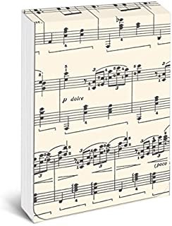Graphique Sheet of Music Pocket Notes – Pocket Notebook with