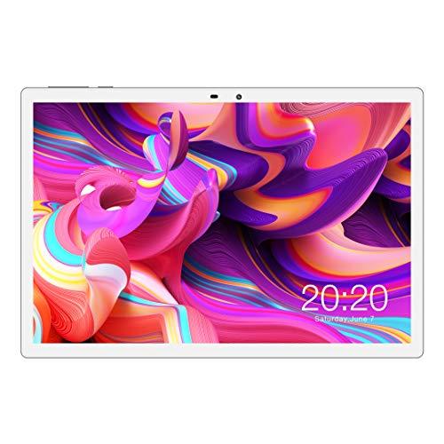 Tablette Tactile 4G Réseau LTE 10.1 Pouces TECLAST M30 Android 8.0, 4Go RAM 128Go ROM, Tablette Android Full HD Soutien la Carte SIM, MTK X27 10 Coeurs 2.6GHz 7500 mAh Dual WiFi GPS Écran 2.5K