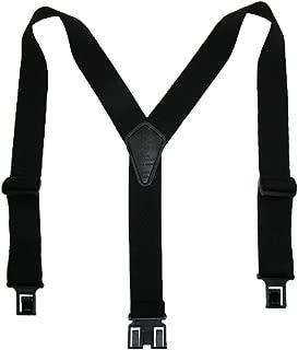 Perry Suspenders Mens Elastic Ruf-N-Tuf Hook End Suspenders