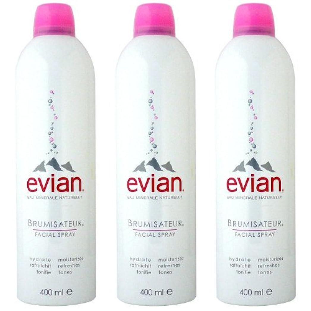 くるくる過度にズームインするエビアン(evian) ブルミザトワール (化粧水) 400ml×3[並行輸入品]