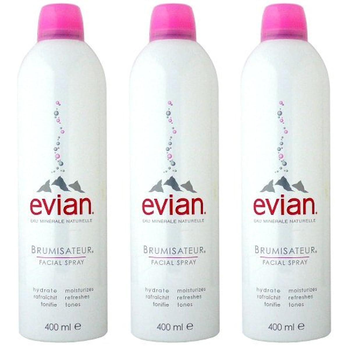 スペース自分の力ですべてをする押し下げるエビアン(evian) ブルミザトワール (化粧水) 400ml×3[並行輸入品]