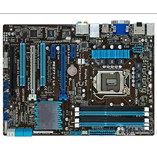 TOPOU Plato Principal Motherboard de Escritorio Usado ASUS P8Z77-V LK Motherboard Z77 Socket LGA 1155 i3 i5 i7 DDR3 32G ATX Placas Madre Originales