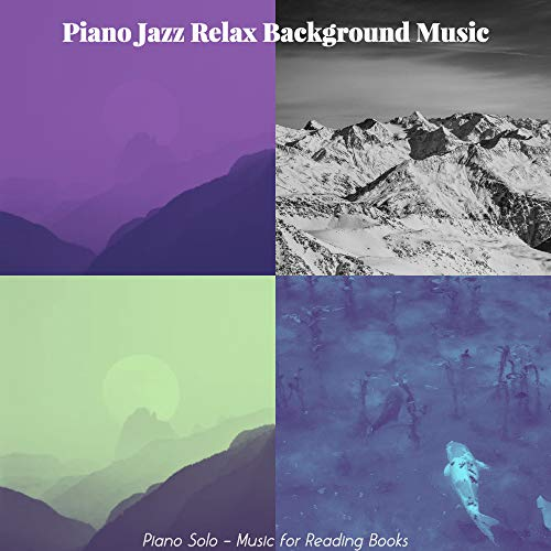 Wonderful Solo Piano Jazz - Vibe for Reading Books