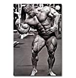 Bodybuilding Motivation Kunst Leinwand Poster drucken