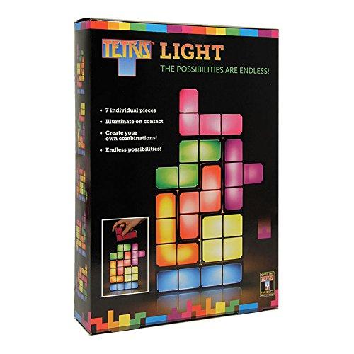 Tetris lampada blocchi di accatastamento spia tetris