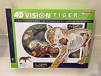 アオシマ文化教材社 スカイネット 4D VISION TIGER 虎 解剖 パズル模型