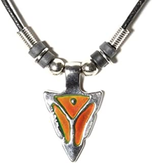 Celtalux Arrowhead Mood Necklace