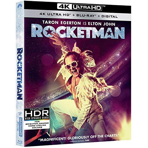 Rocketman (4K UHD + Blu-ray + Digital) $7.50 @ Amazon