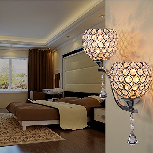 Crystal Wall Lamp Modern Sconce Wall Lights E27 Bedside Lamp Wall Mounted Bedside Reading Lamps Loft Home Lighting Lamp Wall Jifengcheng Hg 003 2 Buy Online In Albania At Albania Desertcart Com Productid 67657252