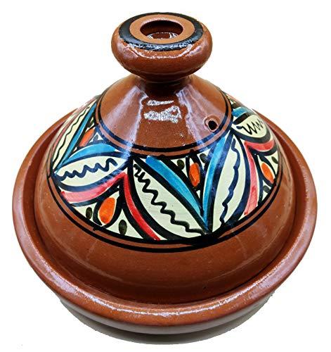 Arredamento Etnico Tajine Pentola Terracotta Piatto Marocchino 35cm 1801201026