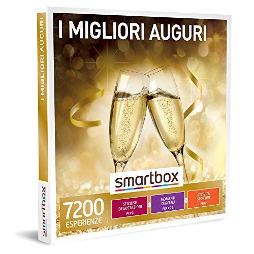 Smartbox - Cofanetto Regalo Coppia - I Migliori Auguri - Idee Regalo Originale - Degustazioni O Momenti Di Benessere O Attività Sportive Per 1 O 2 Persone