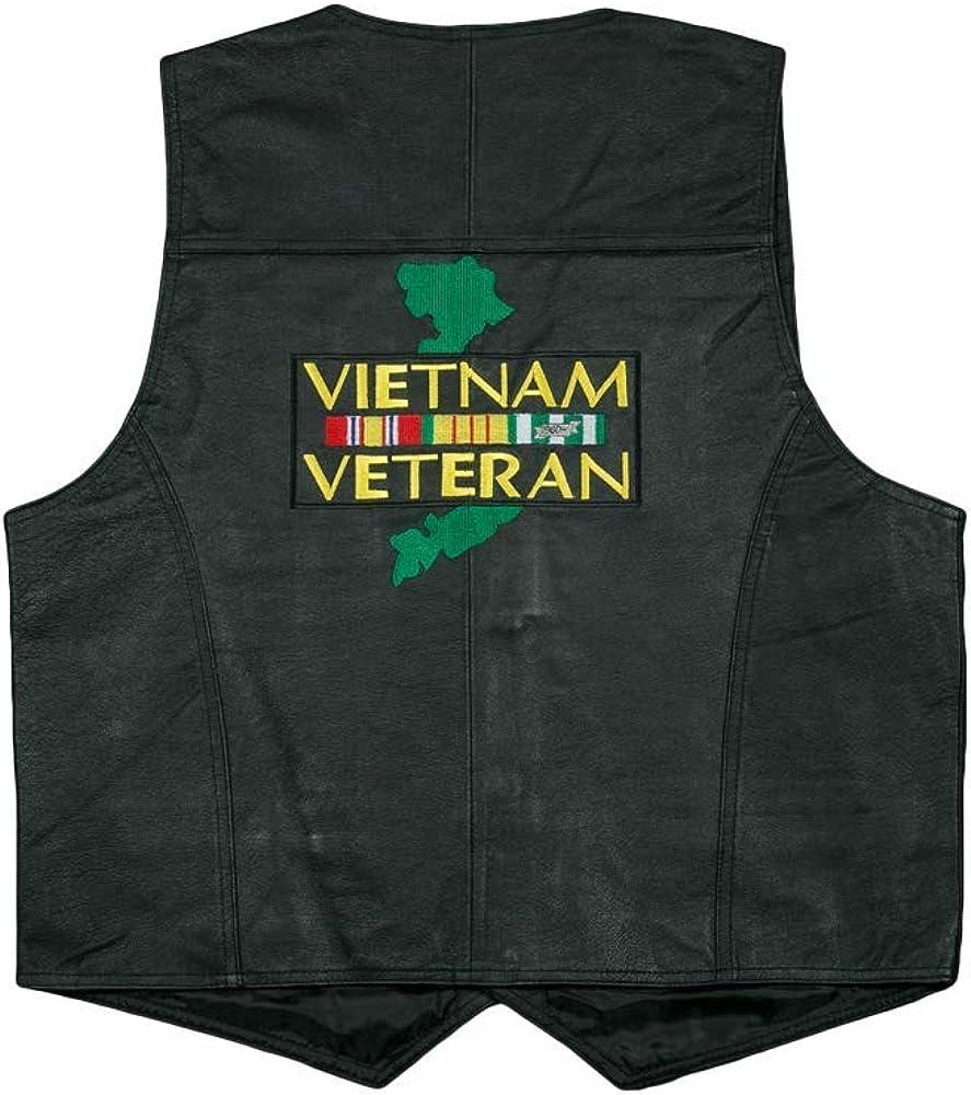 JWM Vietnam Large discharge sale Some reservation Veteran Leather Vest