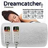 Dreamcatcher Double Electric Blanket Luxury Fleece, Double Bed 193 x 137cm Electric Heated