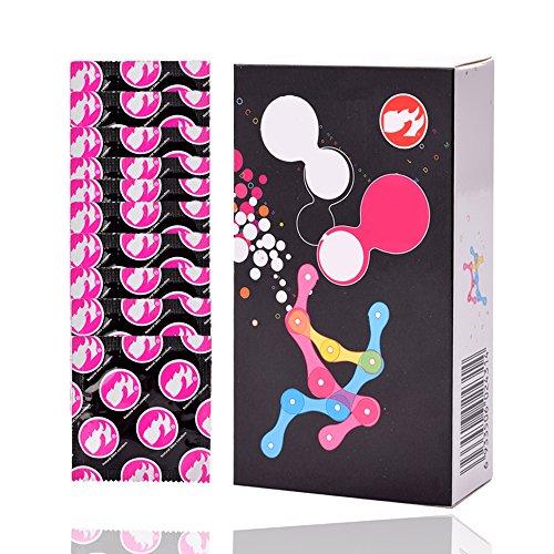 YoZhanhua Condón Luminoso Set Luz Nocturna (3 juegos luminosos + 4 juegos ultrafinos)