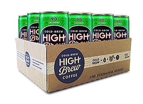 High Brew Cold Brew Coffee - Dark Chocolate Mocha, 8 Fl Oz (12 Count)