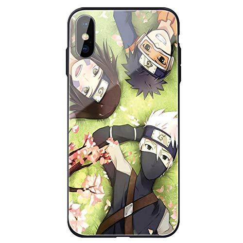 Caja del teléfono Mobile Phone Case with Dragon Ball Z Anime Naruto Kakashi Naruto and One Piece, Suitable for iphone11proXSMAX Case-Photo_Color_6/6S