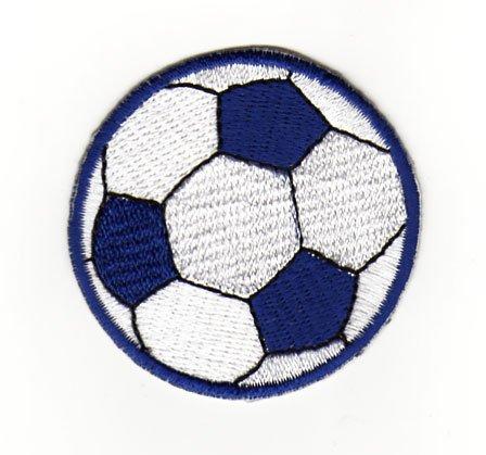 Aufnäher Bügelbild Aufbügler Iron on Patches Applikation Fußball Ball Sport Soccer Kinder