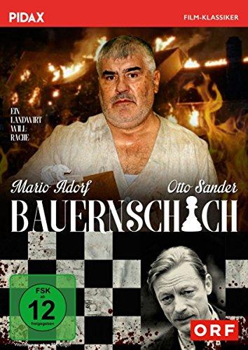 Bauernschach / Packender Psychotriller mit Mario Adorf und Otto Sander (Pidax Film-Klassiker)