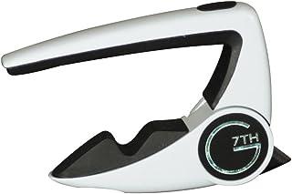 【正規輸入品】 G7TH PERFORMANCE 2 CAPO 6弦フォーク用 Special Edition White(スペシャルエディションホワイト) カポタスト