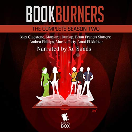 Bookburners: The Complete Season 2 audiobook cover art