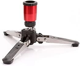 FocusFoto Mini Tripod Feet Three Legs Support Stand Base 3/8 for Monopod Benro Manfrotto