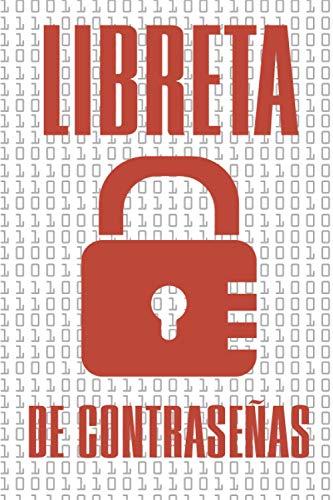 Libreta de Contraseñas: Libreta para anotar contraseñas de correos electronicos y paginas en internet. Regalo para mamá y papá
