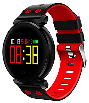 Collasaro Android Smartwatch, Waterproof Fitness Watch Activity Tracker for Men Women with Blood Pressure, Heart Rate Monitor, Sleep & Step Tracker