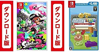 Splatoon2 (スプラトゥーン2) オンラインコード版 + ぷよぷよテトリスS スペシャルプライス オンラインコード版