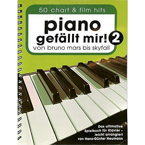 Piano gefällt mir Band 2 (reliure à spirale) - 50 chart a film hits. De Bruno Mars à Skyfall. Le livre de jeu ultime pour piano de Hans-Günter Heumann - avec pince à partitions - BOE7789 9783865438928