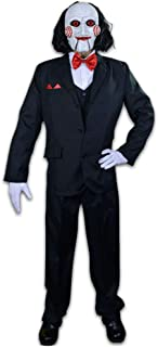 Saw Billy Puppet Adult Costume White