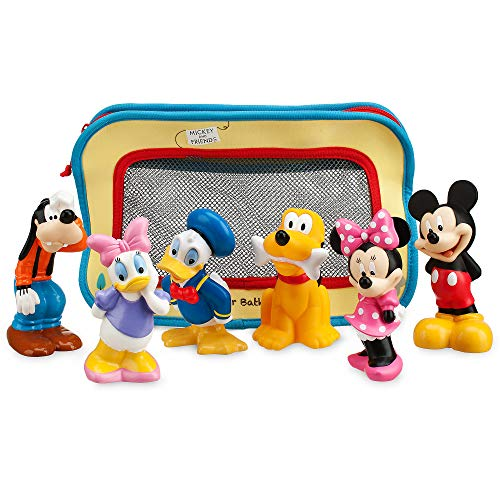 Disney Mickey Mouse and Friends Bath Toys for Baby