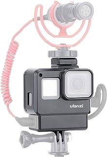 Ulanzi V2 Gopro保護ケース Gopro Hero 5/6 / 7用 3.5mmマイクアダプターホルダー