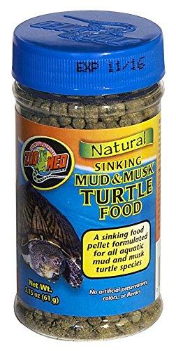 Zoo Med ZM-66 Sinking Mud & Musk Turtle Food 2.15oz