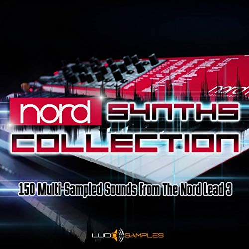 Nord Synths Collection - 150 Nord Lead Multi Sampled Sounds | SF2 Samples | DVD non Box