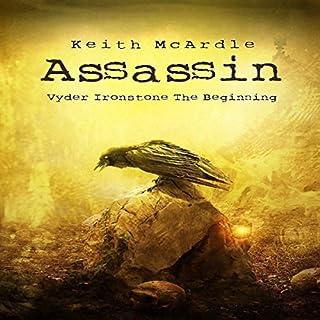 Assassin audiobook cover art
