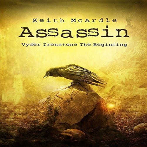 Assassin audiobook cover art