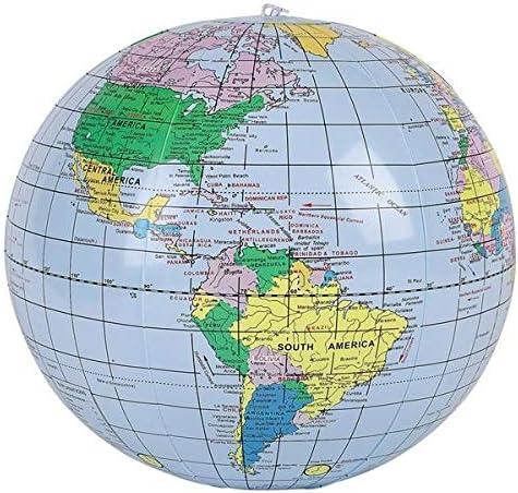 Genuine Free Shipping Rhode Island Novelty 16 Inch price World 2 Globe Globes Inflates Per O