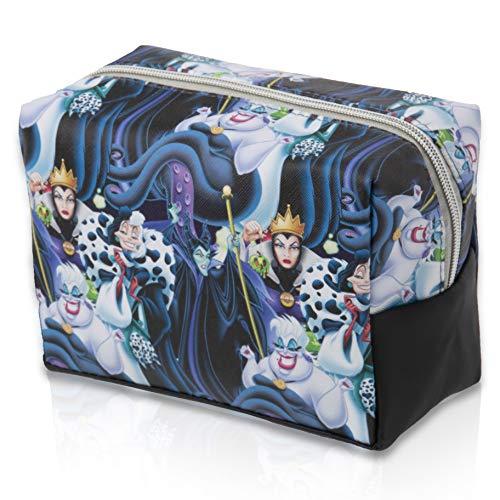 Disney Maleficent Cosmeticatasjes | Toilettas voor dames, meisjes met maleficent De donkere fee en Cruella De Vil | Toilettas wastas kinderen | cadeau-idee met Disney bosegewicht