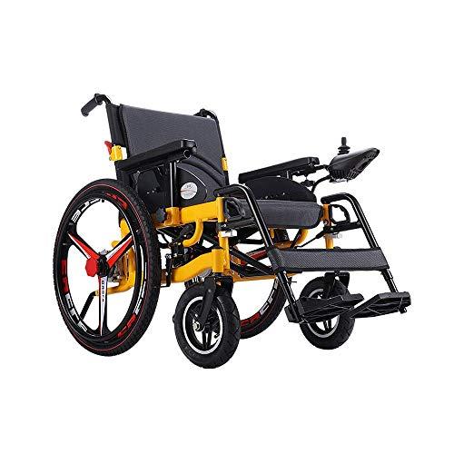 YUXINCAI Elektrische rolstoel, licht opvouwbaar, intelligent automatisch liggen, draagbare elderly scooter op verschillende wegen aan te passen