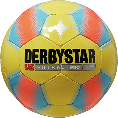 Derbystar Futsal Pro Light, Gelb/Blau, 4, 1086400567