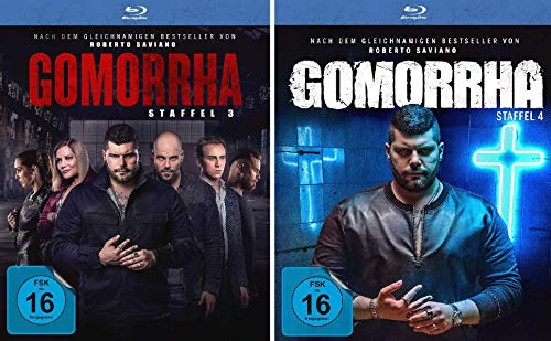 Gomorrha - Staffel 3+4 im Set - Deutsche Originalware [6 Blu-rays]